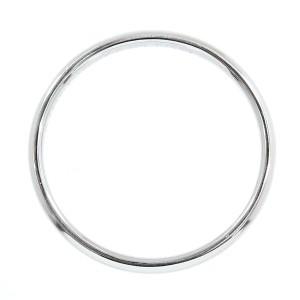 Tiffany & Co. 950 Platinum Classic Band Ring Size 8.5