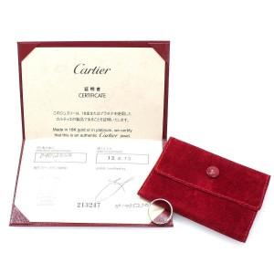 Cartier 950 Platinum Classic Ring Size 6.25