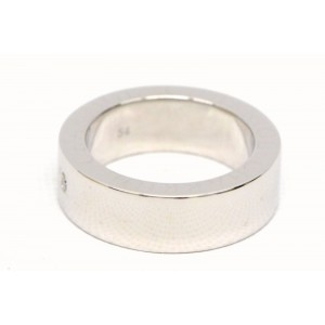 Charriol 18K White Gold with Diamond Band Ring Size 7
