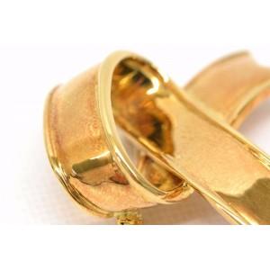 Tiffany & Co. 750 Yellow Gold Ribbon Brooch