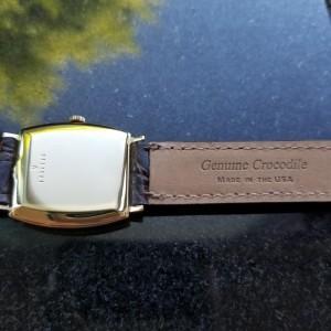 Jaeger LeCoultre Tonneau Classic Vintage 27mm Unisex Watch