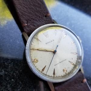 Rolex Rare Military 3742 Vintage 33mm Mens Watch