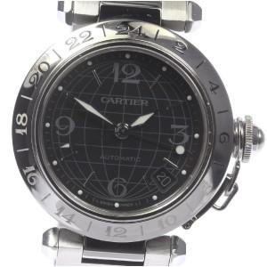 Cartier Pasha C W31079M7 35mm Mens Watch