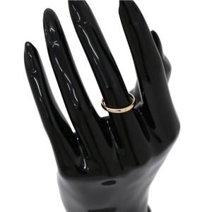 Pomellato Lucciole 18K Rose Gold 0.03ctw Diamond Ring Size 4.5
