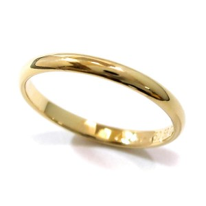 Cartier Classic Ring 18K Yellow Gold Size 8.25