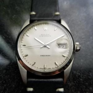 Rolex Oysterdate 6694 Vintage 35mm Mens Watch