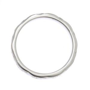 Chanel Matelasse PT950 Platinum Diamond Ring Size 5