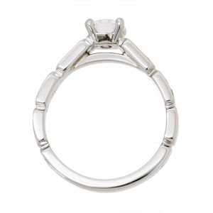 Chanel Premiere Platinum 0.45ctw. Diamond Ring Size 5
