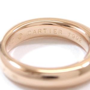Cartier Ellipse Ring 18K Rose Gold Size 5.25