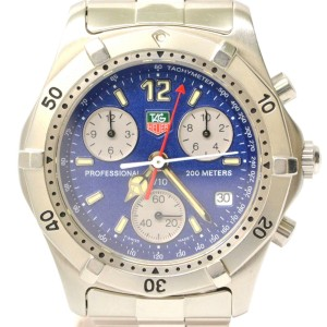 Tag Heuer Classic Professional CK1112 36mm Mens Watch