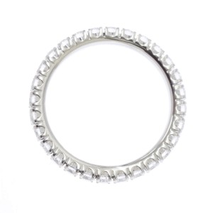 Cartier Etincelle Ring Platinum Diamond Size 4.75
