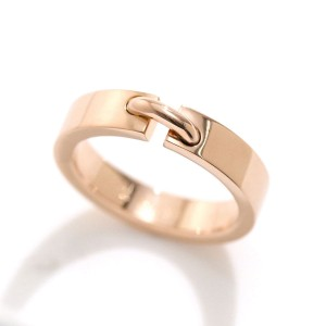 Chaumet Liens 18K Rose Gold Ring Size 4.5