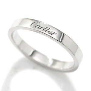 Cartier Ring Platinum Size 8