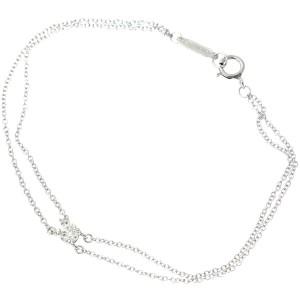 Tiffany & Co. 950 Platinum 0.17ct Diamond Bracelet