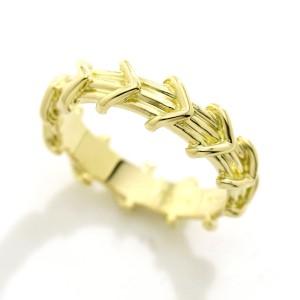 Tiffany & Co. 18K Yellow Gold Arrow Ring
