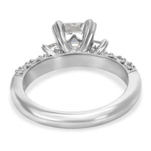 Tacori Platinum Diamond Engagement Ring Size 6.5