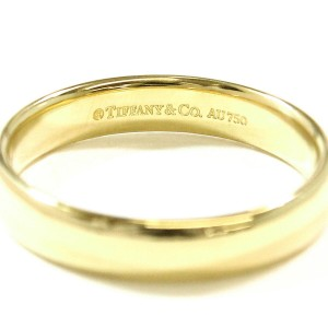 Tiffany & Co. Lucida 18K Yellow Gold Ring Size 11.5