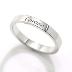 Cartier Ring Pt950 Platinum Size 8