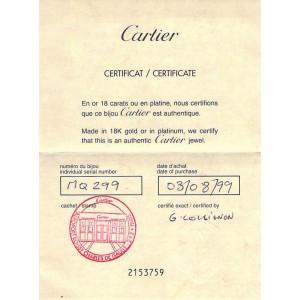 Cartier Vintage Trinity Bracelet in 18K Tri-Color Gold