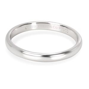 Tiffany & Co. Platinum Wedding Ring Size 4.75
