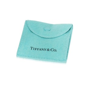 Tiffany & Co. 18K Yellow Gold, Platinum Diamond Ring Size 7.5