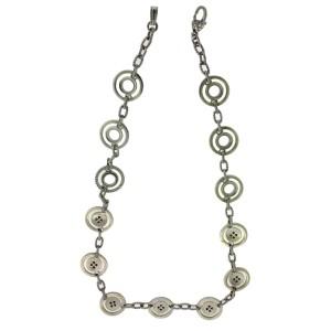 Judith Ripka Sterling Silver Diamond Necklace