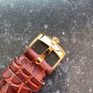 TUDOR Men's 18k Gold-Plated Oyster Regent Manual Hand-Wind c.1965 Swiss MA121brn