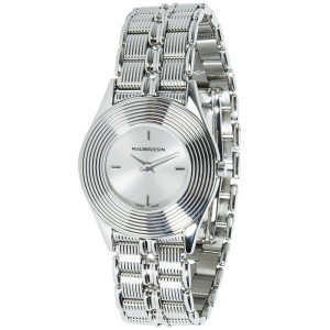 Mauboussin Round R.62682 Women's Watch in Stainless Steel