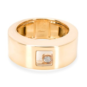 Chopard Happy Ring in 18K Yellow Gold 0.05 CT