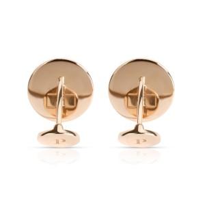 Piaget Altiplano Hematite Cufflinks in 18K Rose Gold