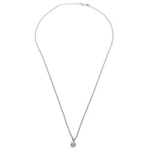 IGI Certified Diamond Pendant in 14k White Gold I-J SI2-I1 (0.75 CTW)