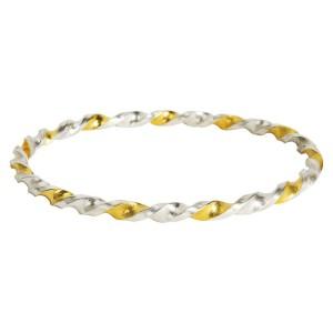 Gurhan Midnight Bangle Bracelet in Sterling Silver