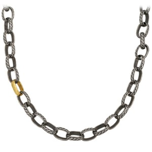 Gurhan Chain Necklace in Sterling Silver