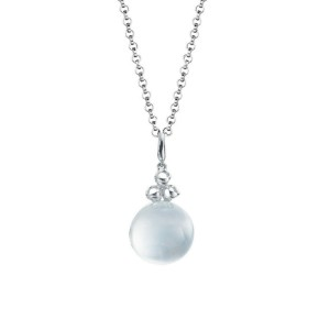 BRAND NEW Di Modolo Mother of Pearl Pendant in Plated Rhodium MSRP 650