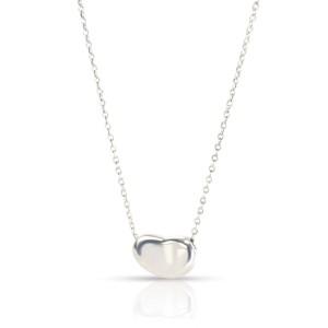 Tiffany & Co. Elsa Peretti Bean Pendant in  Sterling Silver