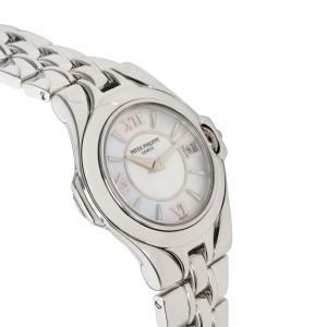 Patek Philippe Sculpture 4891/1A-001 Women's Watch in  Stainless Steel