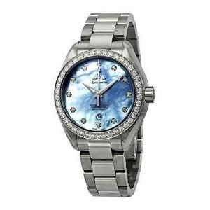 Omega Seamaster Aqua Terra Automatic Chronometer Diamond Ladies Watch 231.15.34.