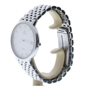 Omega DeVille Stainless Steel White Dial Womens Watch 55281523