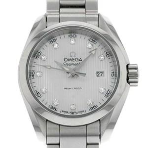 Omega Aqua Terra Quartz Ladies Watch 231.10.30.60.55.001