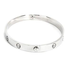 Cartier Love Bracelet in 18K White Gold (Size 20)