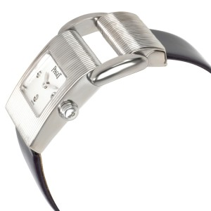 Piaget Miss Protocole 5221 Women's Watch in 18kt White Gold