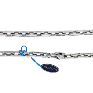 Braccio SS3090 - 24 Men's heavy chain in Stainless Steel 24 inches