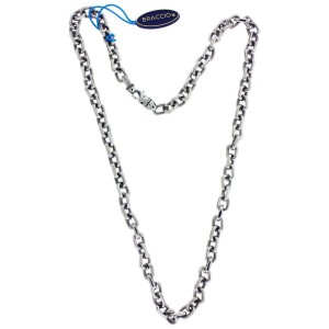 Braccio SS3884 Men's necklace in Stainless Steel 24 inches long