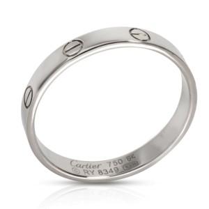 Cartier LOVE Wedding Band in 18K White Gold