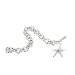 Tiffany & Co. Elsa Peretti Turquoise Sarfish Bracelet in  Sterling Silver