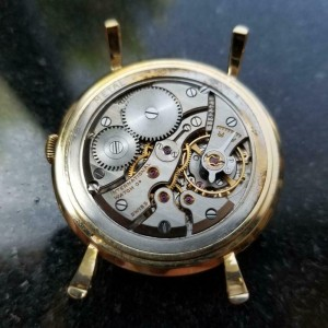 Men's IWC 18K Solid Gold cal.89 Manual Hand-Wind Dress Watch, c.1950s LV539GRN