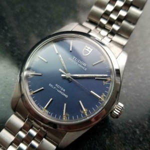 Men's Tudor Oyster Prince Ref.90220 34mm Automatic Blue Dial, c.1980s LV931