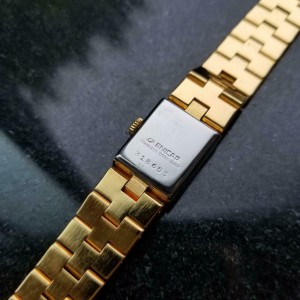 ENICAR Ladies Gold-Plated Cocktail Dress Watch c.1960s Vintage Swiss 15mm DX26
