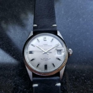 Tudor 1970s Men's Prince Oysterdate 7996 Rose Automatic 34mm Swiss Vintage LV311