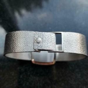 Patek Philippe Men's 18K Solid White Gold 28mm 3566 1970s Original Watch LV630